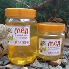 Мед майский, вес 700 гр